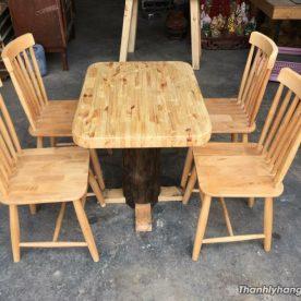 Bàn ghế kiểu giá rẻ