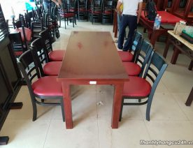 Bàn ghế nhà hàng giảm giá thanh lý