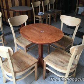 Bàn ghế nhà hàng thanh lý giá rẻ