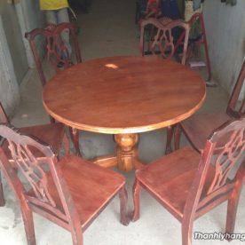 bàn ăn 6 ghế gia đình