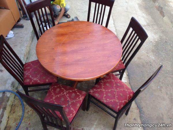 bàn ghế cafe kiểu tròn