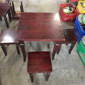 bàn 4 ghế cũ