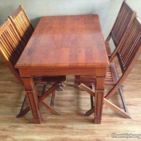 bàn ghế nhà hàng kiểu