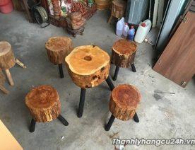 Thanh lý bàng ghế kiểu bằng gỗ