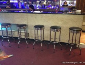 ghế bar đôn inox